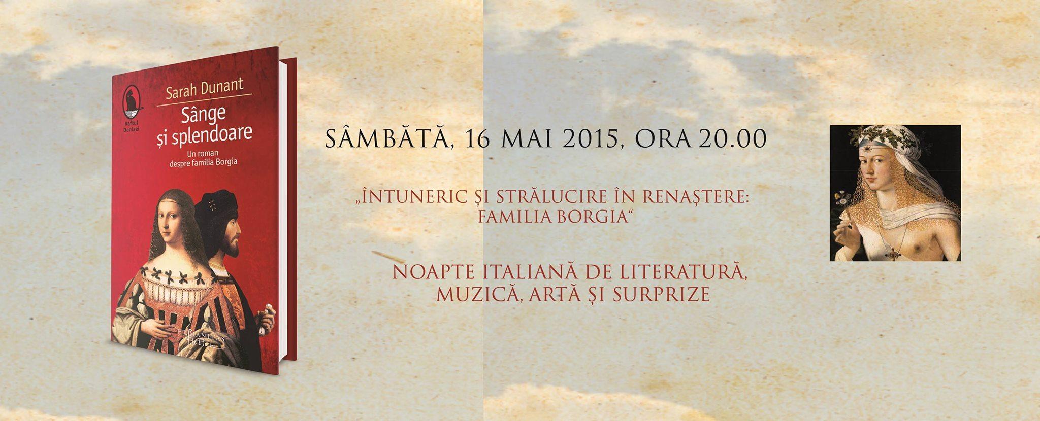Noapte italiană de literatură, muzică şi artă