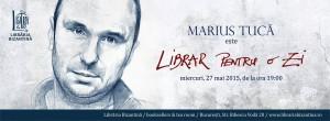 Librar pentru o zi este Marius Tucă