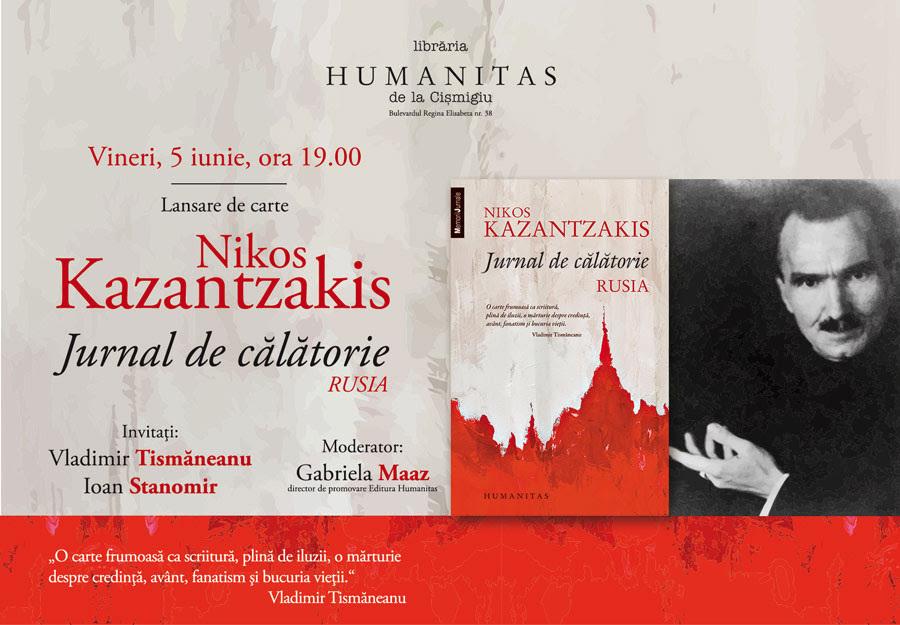 Vladimir Tismăneanu şi Ioan Stanomir despre călătoriile lui Nikos Kazantzakis în Rusia
