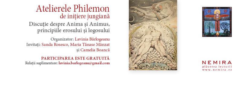 Atelierul Philemon la cea de a şasea ediţie: discuţie despre Anima şi Animus, principiile erosului şi logosului