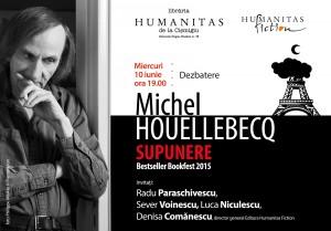 """Dezbatere de carte: """"Supunere"""" de Michel Houellebecq"""