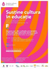 """Întâlnirile """"Cultura în educație"""": Despre joc, din culisele proiectelor culturale educaționale pentru copii"""