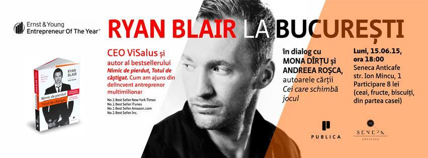 Ryan Blair la București