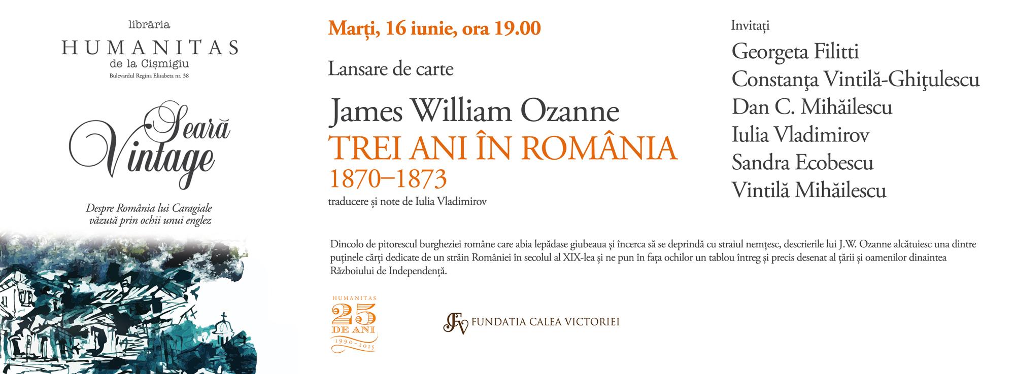 Despre România lui Caragiale văzută prin ochii unui englez