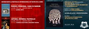 Lansări de carte George Banu şi spectacol lectură după Valentin Nicolau la Festivalul Internaţional de Teatru de la Sibiu