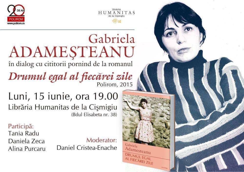 Gabriela Adameșteanu în dialog cu cititorii