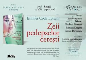 """Seara Japoneză, """"Zeii pedepselor cerești"""", de Jennifer Cody Epstein"""