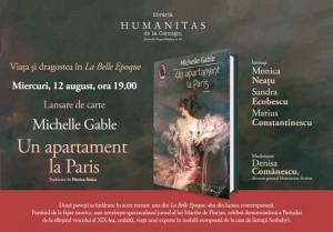 """Lansare """"Un apartament la Paris"""""""