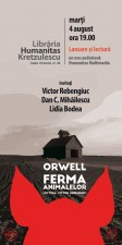 """Lansare audiobook, """"Ferma animalelor"""" de George Orwell"""
