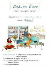 "Books. tea & more. ""Venit pe lume"", de Margaret Mazzantini"