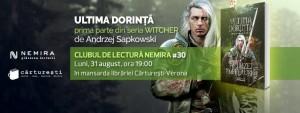 """Clubul de lectură Nemira #30 - """"Ultima dorință"""", de Andrzej Sapkowski"""