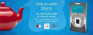 """Club de carte Litera ediția a XI-a: """"Al zecelea om"""", de Graham Greene"""