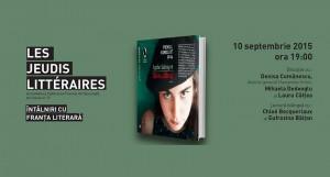 "Les Jeudis Littéraires la Institutul Francez: ""Să nu plângi"", de Lydie Salvayre"