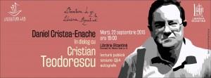 Literatura de azi cu Cristian Teodorescu