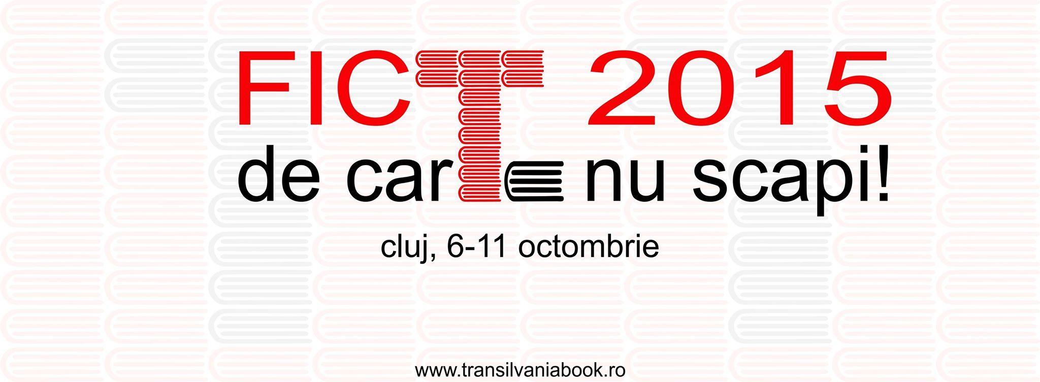 Festivalul Internaţional de Carte Transilvania 2015
