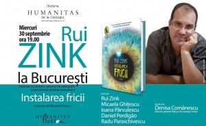 Rui Zink la Bucureşti