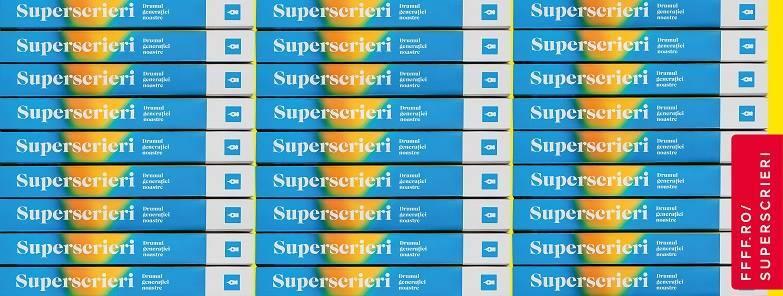 """Lansarea cărții """"Superscrieri: Drumul generației noastre"""" & expoziție de ciorne"""