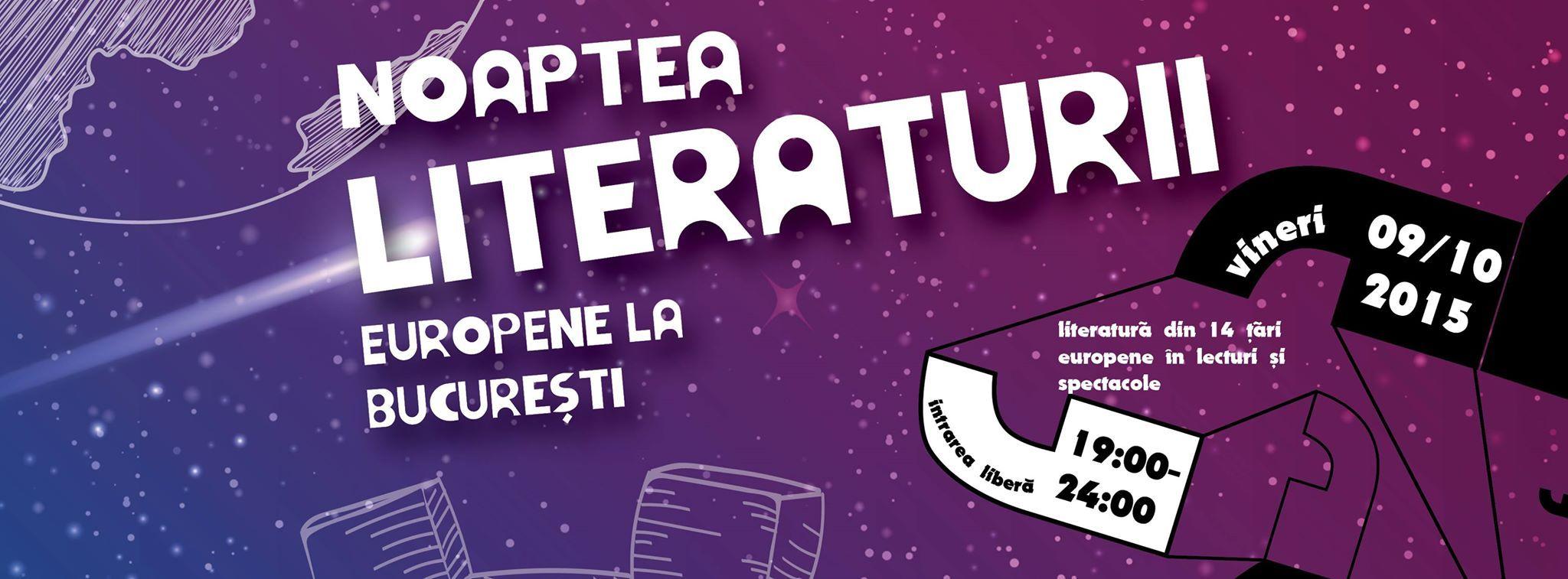Noaptea Literaturii Europene 2015