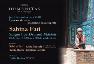 Sabina Fati, lansare de carte şi sesiune de autografe