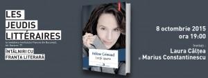"""Les Jeudis Littéraires - """"Lecții aparte"""", de Hélène Grimaud"""