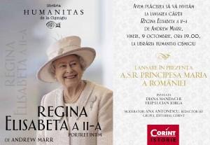 """Lansare: """"Regina Elisabeta a II-a"""", de Andrew Marr"""