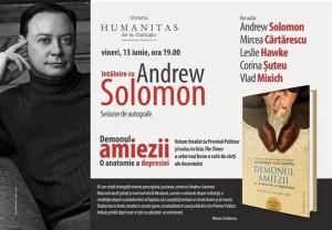 Întâlnire cu Andrew Solomon la București