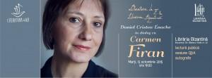 Literatura de azi cu Carmen Firan