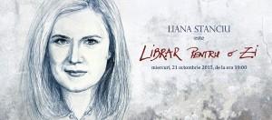 Liana Stanciu este librar pentru o zi