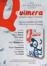 """Lansare și sesiune de autografe, """"Quimera"""", romanul regizorului Paul Țanicui"""