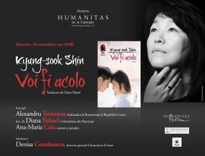"""Lansarea romanului """"Voi fi acolo"""", de Kyung-sook Shin"""