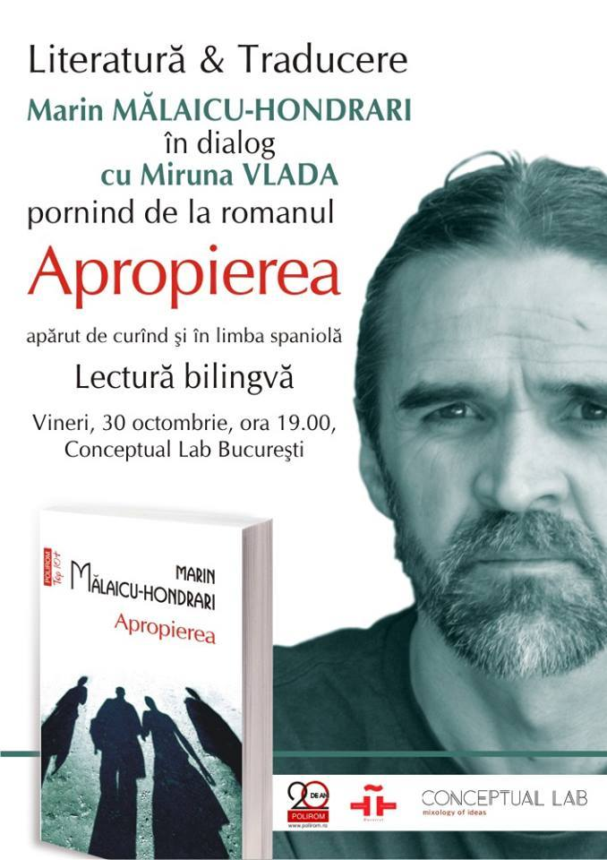 Literatură și traducere cu Marin Mălaicu-Hondrari