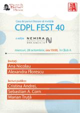 CDPL FEST 40: O ediție despre Editura Nemira