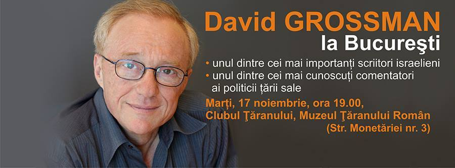 David Grossman în dialog cu Cătălin Ștefănescu