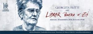 Georgeta Filitti este Librar pentru o zi