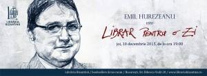 Emil Hurezeanu este Librar pentru o zi