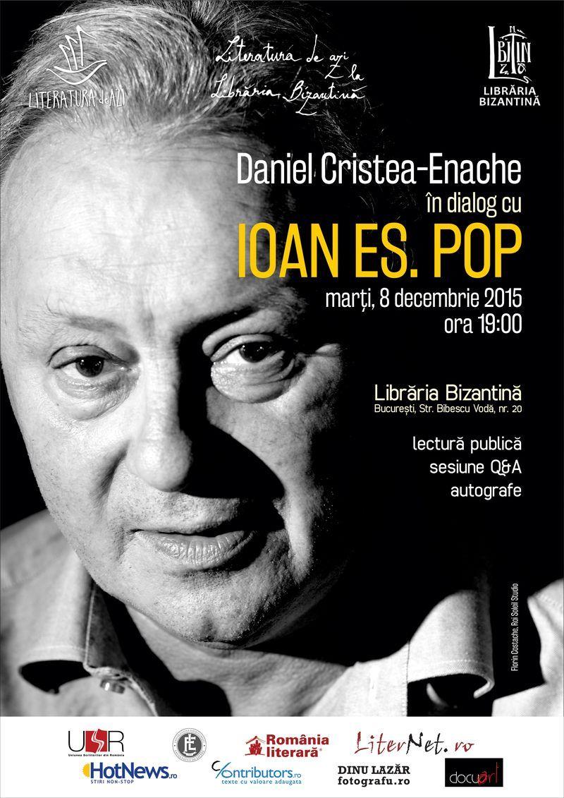 Literatura de azi împreună cu Ioan Es. Pop.