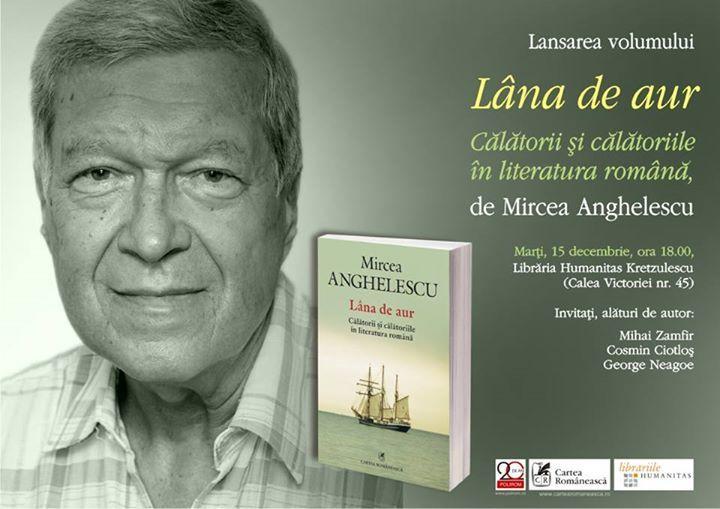 Despre literatura românească de călătorie cu Mircea Angelescu