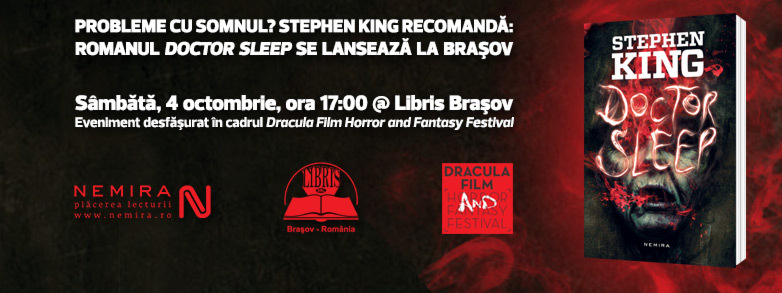 "Lansare ""Doctor Sleep"" de Stephen King la Brașov"
