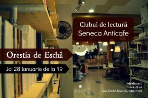 """Clubul de lectură Seneca Anticafe: """"Orestia"""", de Eschil"""