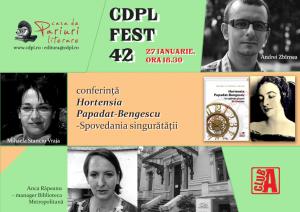 CDPL FEST 42: Anca Râpeanu, Andrei Zbîrnea și Mihaela Stanciu