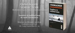"""Clubul de carte Nordic Noir: """"Sumbru ca sufletul meu"""", de Antti Tuomainen"""