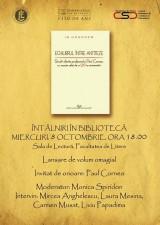 Întâlniri în bibliotecă la Facultatea de Litere București