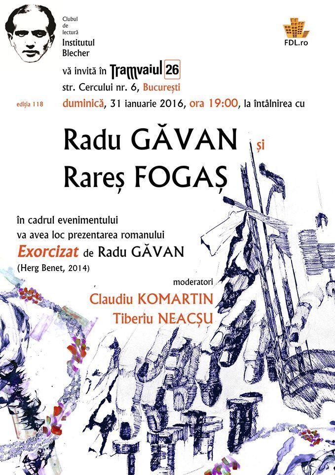 Institutul Blecher, ediția 118 | Întâlnirea cu Radu Găvan și Rareș Fogaș