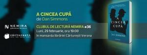 """Clubul de lectură Nemira #36 - """"A cincea cupă"""", de Dan Simmons"""