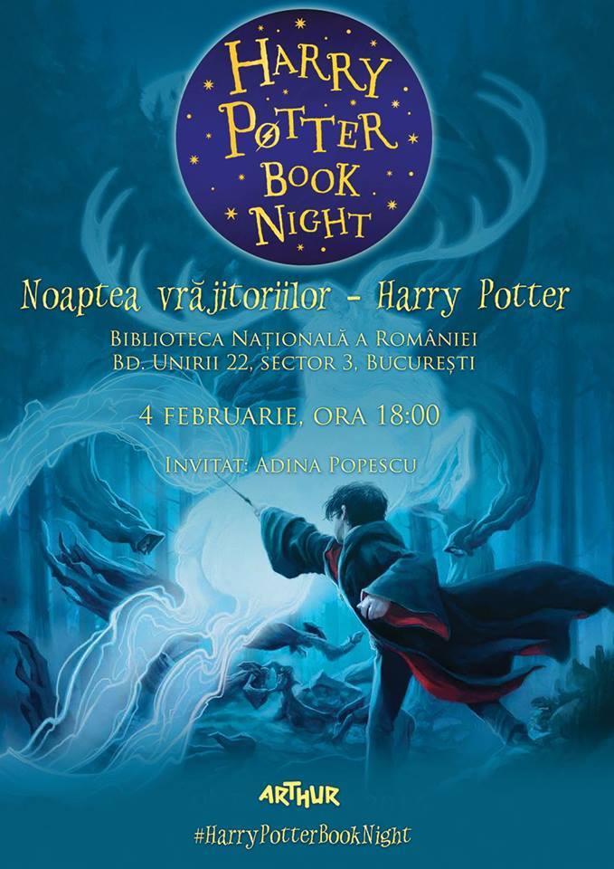 """Noaptea vrăjitoriilor: """"Harry Potter"""""""