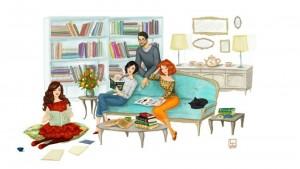 "Club de carte Books, tea & more: ""Femeia de hârtie"", de Rabih Alameddine"