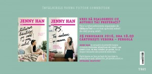 Vino să dialoghezi cu Jenny Han!