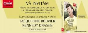 """Lansarea cărții """"Jacqueline Bouvier Kennedy Onassis. Povestea nespusă"""", de Barbara Leaming"""
