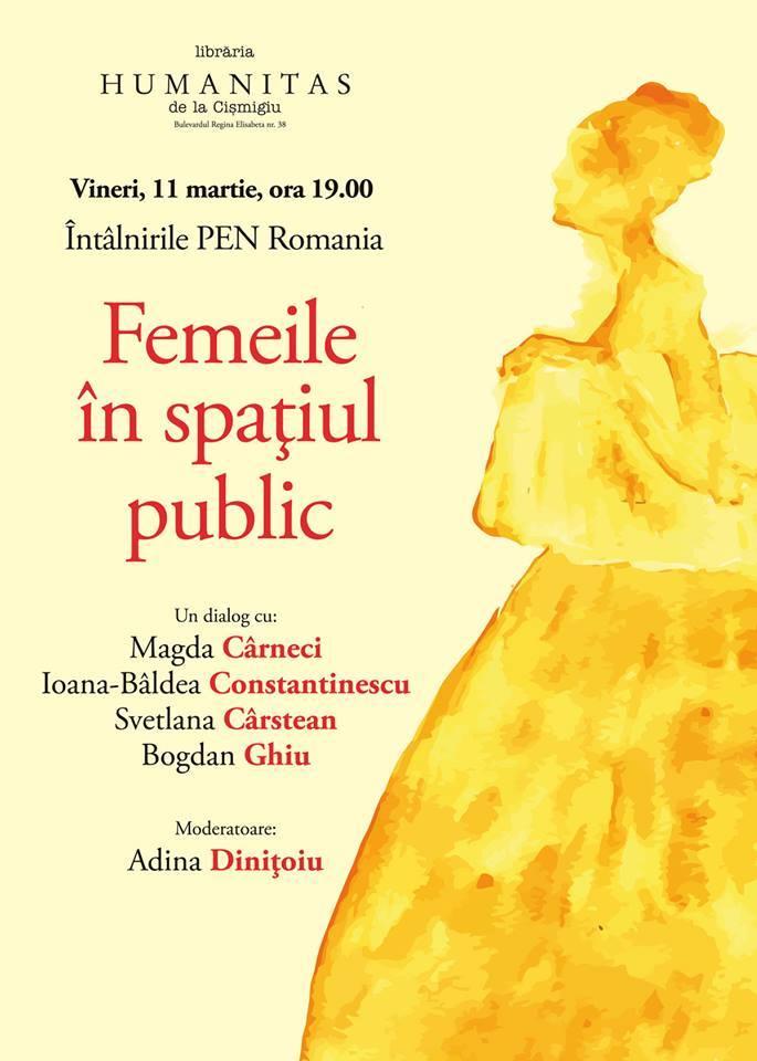 Femeile în spațiul public