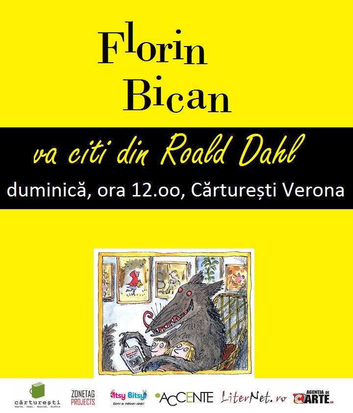 Povești la Cărturești | FLORIN BICAN